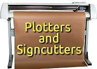 Plotters and Signcutters - describes the industrial predecessors of the modern craftcutters, explaining how X/Y coordinates can generate shapes.